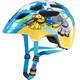 UVEX Finale Junior Kask rowerowy Dzieci niebieski/kolorowy